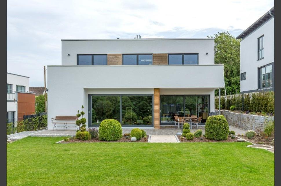 Meisterst ck haus hausdetail for Villa flachdach