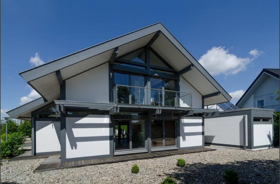 Meisterst ck haus hausdetail for Klinkerhaus modern