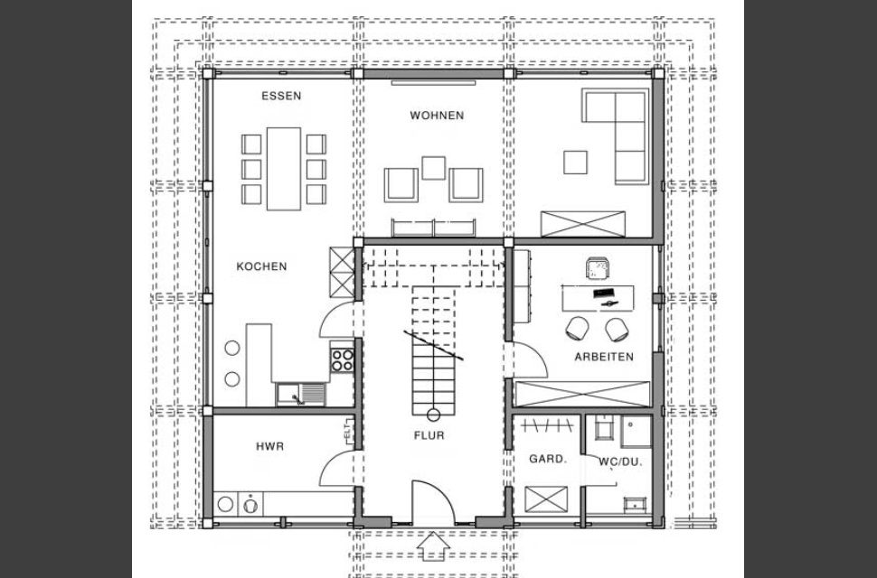 Holzskelettbau wandaufbau  Meisterstück-HAUS | Hausdetail